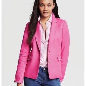 Banana Republic Pink Gold Button Blazer 2